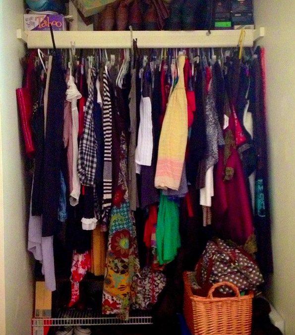 Battling that bulging closet…