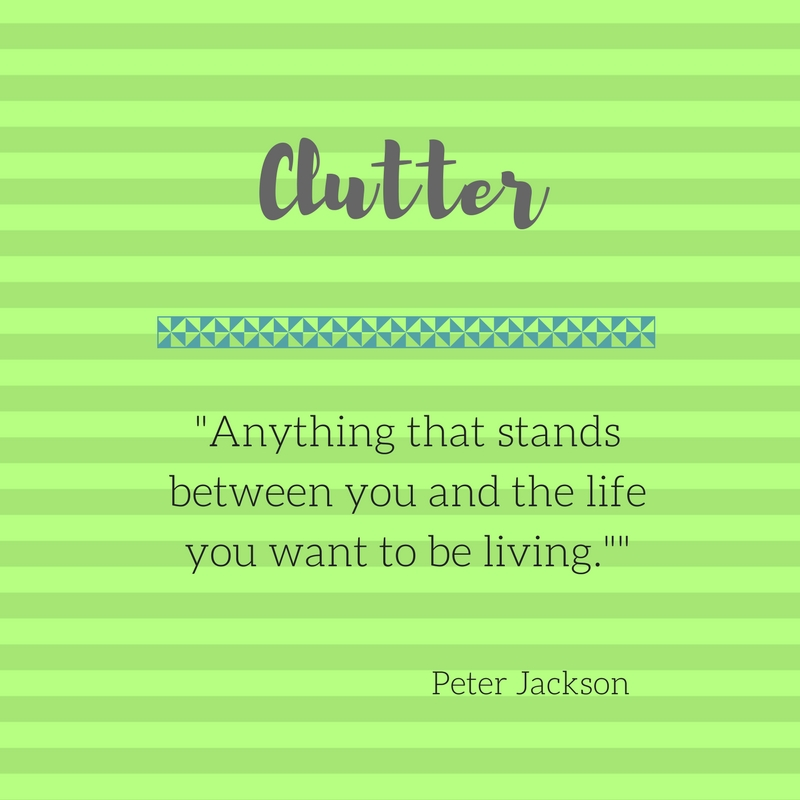 what is clutter graphjic