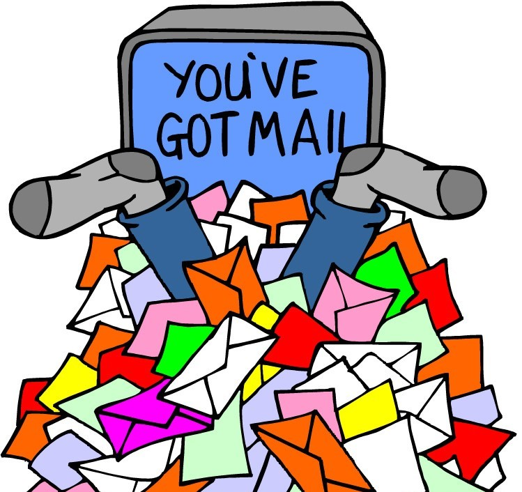 You Ve Got Mail Lots Of It Your Organized Life
