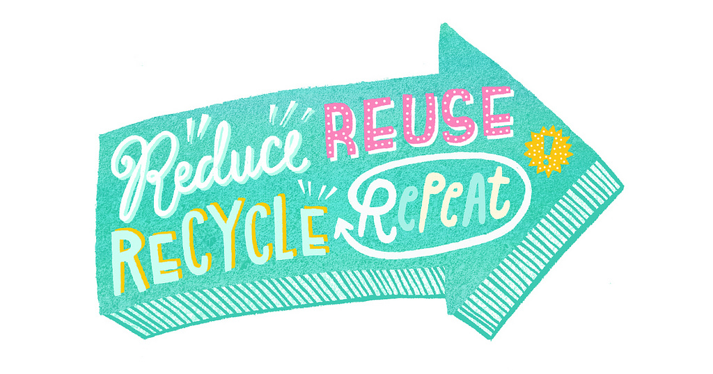 Reduce Reuse Recycle Repeat