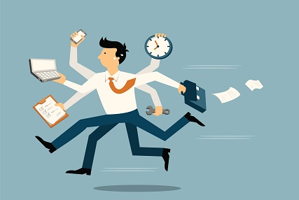 """Taking off the """"badge of busy""""…."""