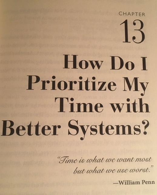 Tips to prioritize my time