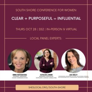 South Shore Conference for Women 2021 #RECONNECT2021 @ Quincy Marriott